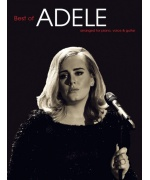 2082. Adele : Best of Adele arranged for piano, voice & guitar (Wise)