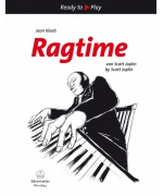 3501. S. Joplin : Ragtime  Easy arrangements for piano