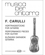 0520. F. Carulli : Performance Pieces for guitar (EMB)