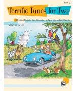 5961. M. Mier : Terrific Tunes for Two, Book 2 (Faber Music)