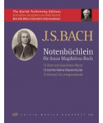 0075. J.S. Bach : 13 Short and Easy Piano Pieces from