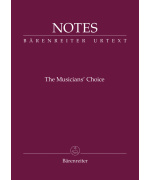 1170. The Musicians' Choice - Beethoven, poznámkový notes, (Bärenreiter)