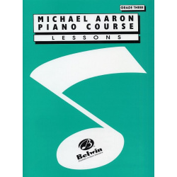 1541. M. Aaron : Aaron Piano Course: Lessons Grade 3