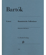 0682. B. Bartók : Romanian Folk Dances (Urtext edition)