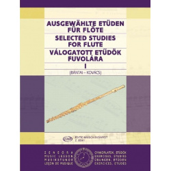 4998. V. Bántai, G. Kovács : Selected Studies for flute 1