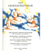 2466.  L.Papp : Csordapásztorok - Hungarian Christmas Songs for 2 (3) Violins - for Beginners