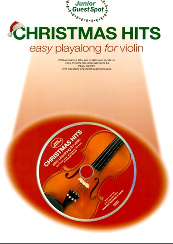 2485. Junior Guest Spot Christmas Hits + CD