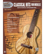1990. Easy Ukulele Play-Along: Classical Hits for Ukulele + CD / melodie + tabulatura