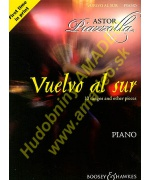 4791. A.Piazzolla : Vuelvo al sur - 10 tangos and other pieces (Boosey & Hawkes)