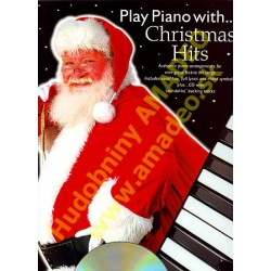 4839. Play Piano with Christmas Hits, piano,lyrics,chords + CD (Wise)
