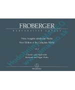 0859. J.J.Froberger : New Edition of the Complete Works VI.2 - Urtext (Bärenreiter)