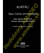 4441. G.Kurtág : Signs, Games and Messages for Double Bass (EMB)