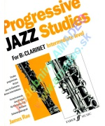 5368. J.Rae : Progressive Jazz Studies for Bb Clarinet - Intermediate Level (Faber)