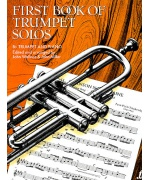 2723. First Book of Trumpet Solos, B Trumpet and Piano