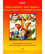 2367. L.Papp : Merry Trumpeters - Five Trumpet Trio (EMB)