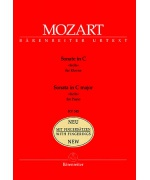 0164. W.A.Mozart : Sonata in C Major KV 545 - New with Fingerings - Urtext (Bärenreiter)