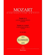 0165. W.A.Mozart : Sonata in A Major KV 331 - New with Fingerings - Urtext (Bärenreiter)