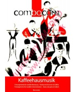 3403. Kaffehausmusik - Combocom, 7 arrangements for variable instruments, Score & Parts C/B/Es (Bärenreiter)