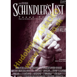 4833. J.Williams : Schindler's List - A Film by S.Spielberg - Piano Solo (Music Sales)