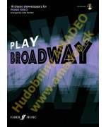 4898. J.Kember : Play Broadway - 10 Classic Showstoppers, Piano Solo + CD (Faber)