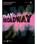 4548. J.Kember : Play Broadway - 10 Classic Showstoppers for Violin and Piano + CD (Faber)