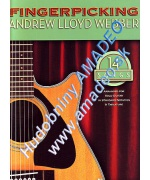 3021. A.L.Webber : 14 Songs, Fingerpicking, solo guitar, not. & tabl. (Hal Leonard)