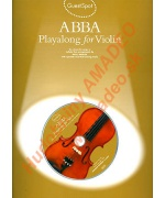 4547. P.Honey : Abba - Playalong for Violin, Ten Classic Hit Songs in Melody Line + CD (Wise)