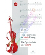 4407. I.Arditti, R.Platz : The Techniques of Violin Playing + DVD (Bärenreiter)